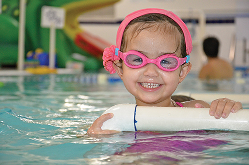 Swimming Lessons & Levels