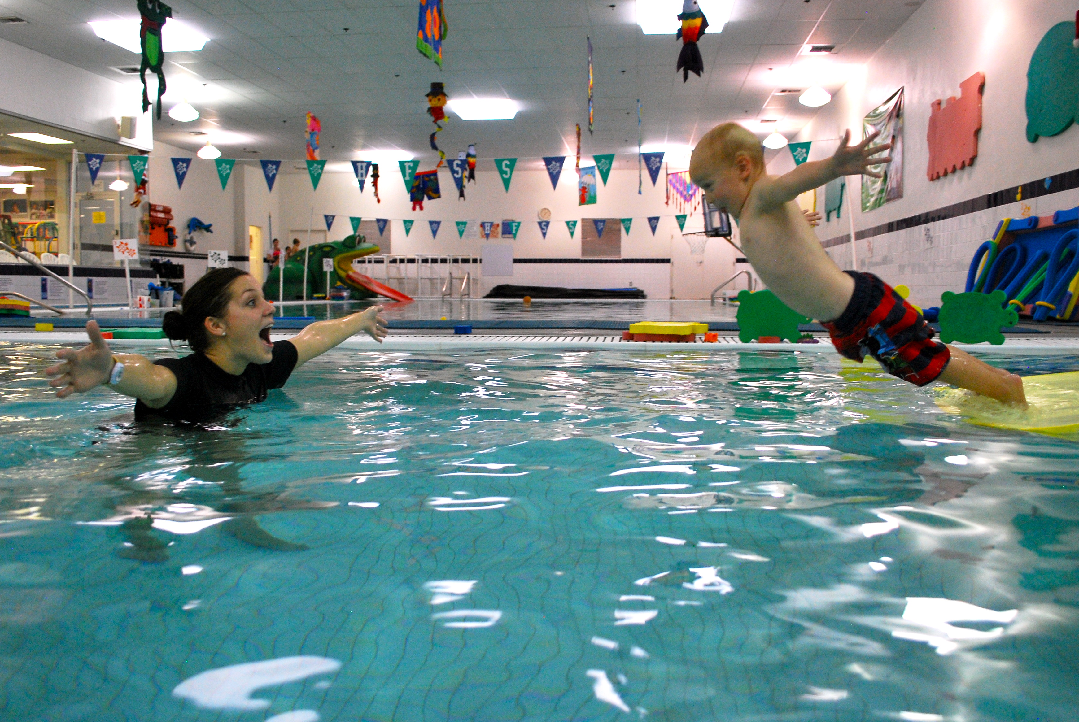 Swimming for children: the pros and cons